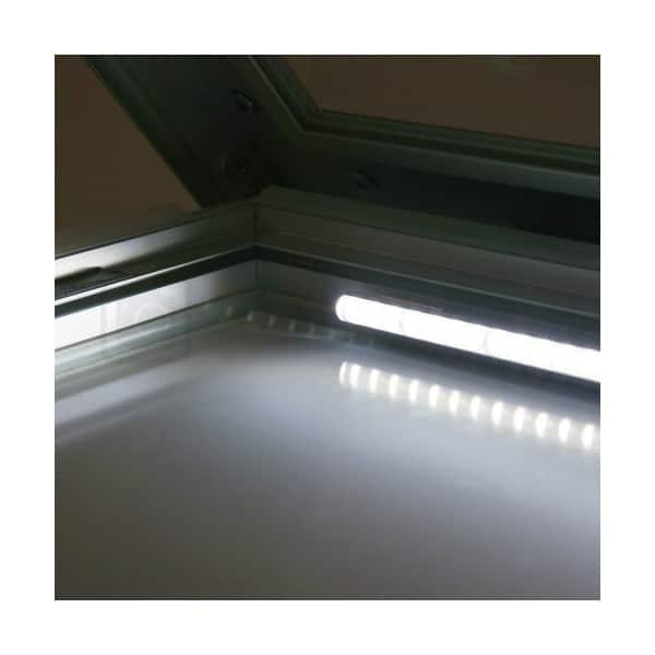 bacheca led illuminata