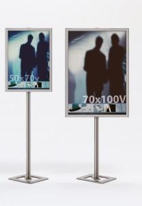 Espositori porta poster IN1
