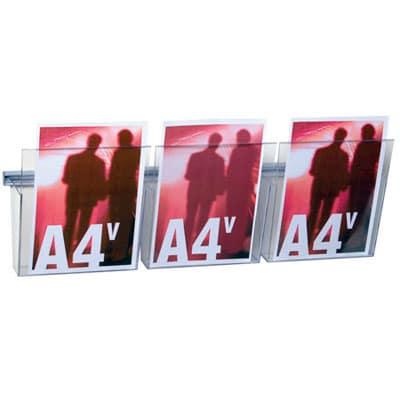 Kit porta cataloghi A4 da parete