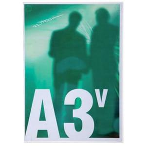 Porta avvisi per vetro A3v