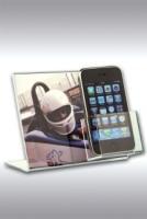 Porta messaggio Duo con tasca porta cellulare