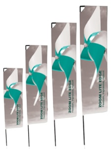 Bandiera personalizzata Rettangolare ZL