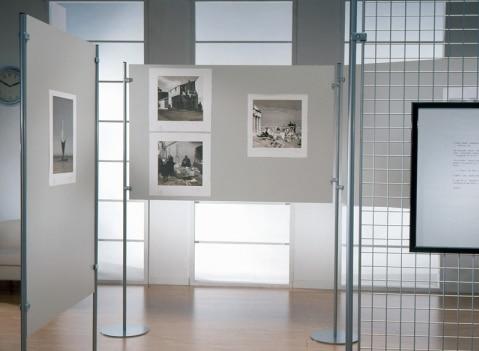 Composizione pannelli e griglie espositive