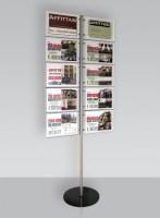 Espositore per 10 cartelli A4 orizzontale
