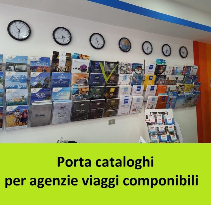 porta cataloghi economico per agenzie viaggi