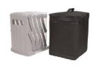 Porta depliant trasportabile con sacca