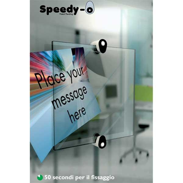 targa ideale per pareti in vetro