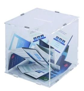 urna in plexiglass