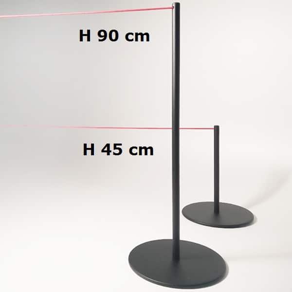 Colonna sottile per musei H 90 H 45 cm