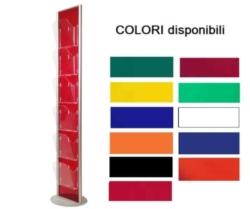 Porta cataloghi colorato_colori disponibili