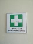 Cartello in alluminio per Cassetta Pronto Soccorso