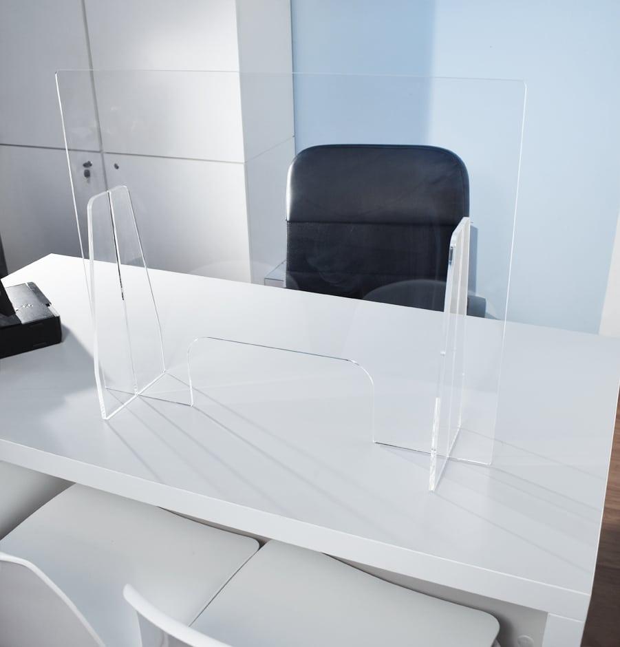 Divisori In Plexiglass Per Esterni schermi di protezione trasparenti mobili