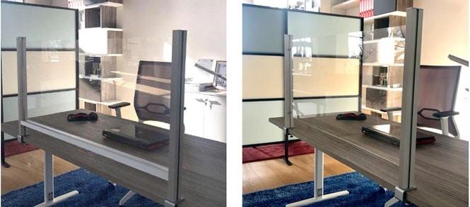 Pannelli di protezione trasparenti in plexiglass per ...