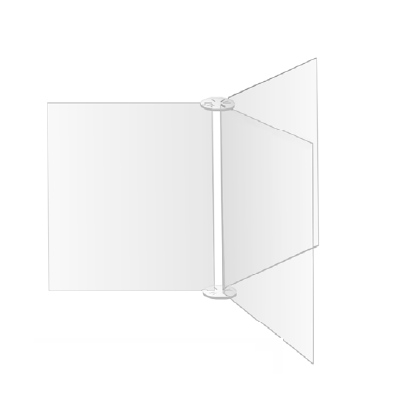 pannello divisorio modulare plexi
