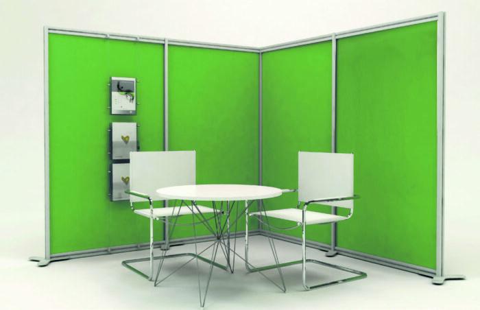 paretina divisoria verde