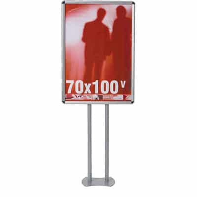 Espositore a piantana porta poster Info 70x100